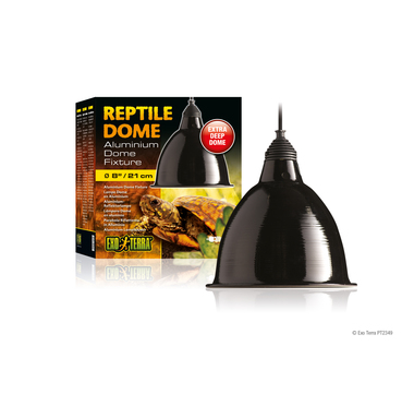 Reptile dome large with fixture high resolution