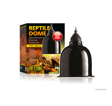 Reptile dome small with fixture high resolution