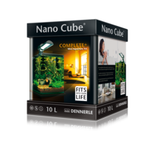 (комплект) Dennerle NanoCube Complete Plus Nano Power LED (10 л)